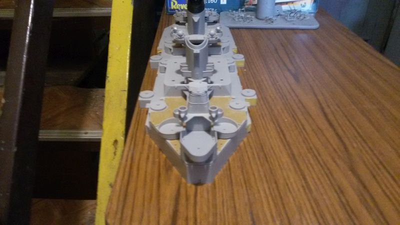 USS Missouri BB-63 - Ungefähr 1949-51- 1-200 von Trumpeter Acjk9d9v