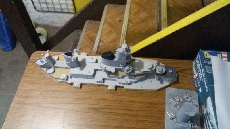 USS Missouri BB-63 - Ungefähr 1949-51- 1-200 von Trumpeter Jvgjrdtb