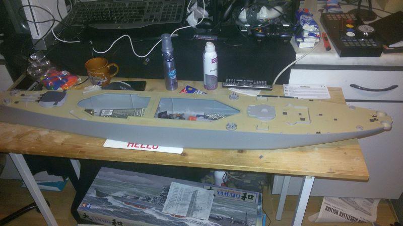 USS Missouri BB-63 - Ungefähr 1949-51- 1-200 von Trumpeter - Seite 2 Q89wlpjo