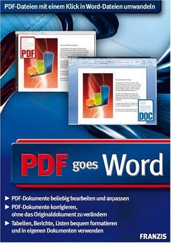 : Franzis Pdf goes Word