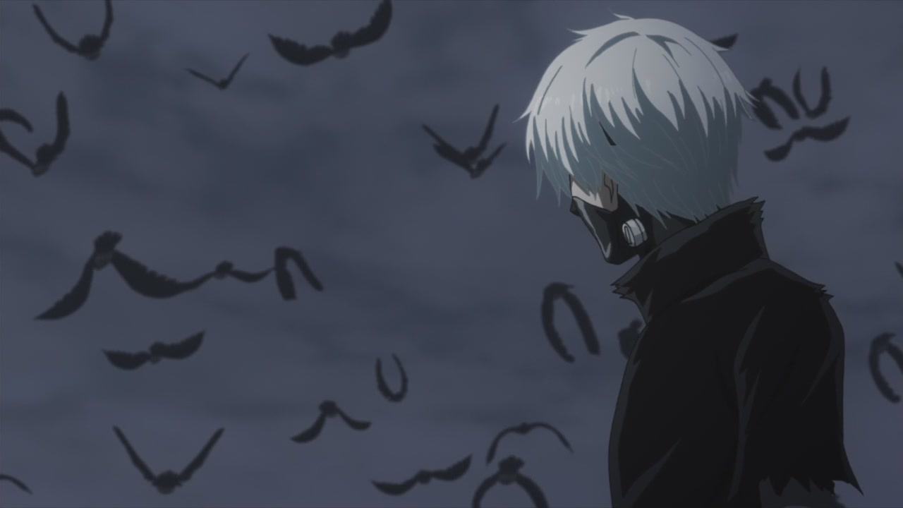 Tokyo Ghoul A / A / Токийский Гуль [KANSAI] [Season 2/Episode 1] [2015 / HDTVRip] [TV Anime]