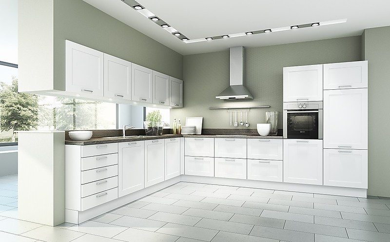 New German Mueller Kitchen Floating Kitchen Gaggenau