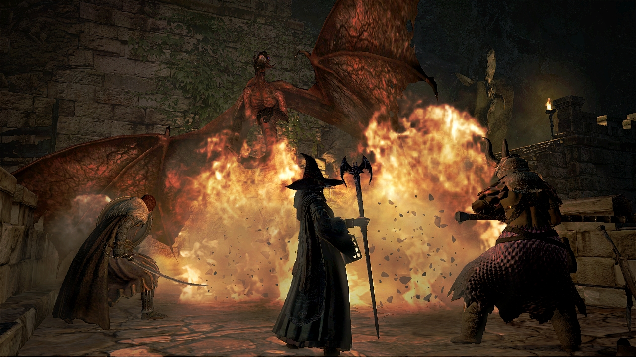 [XBOX360] Dragon's Dogma: Dark Arisen + HD Texture + Jap Voice (Capcom)  [2013 / English] [Role-Playing(RPG)]