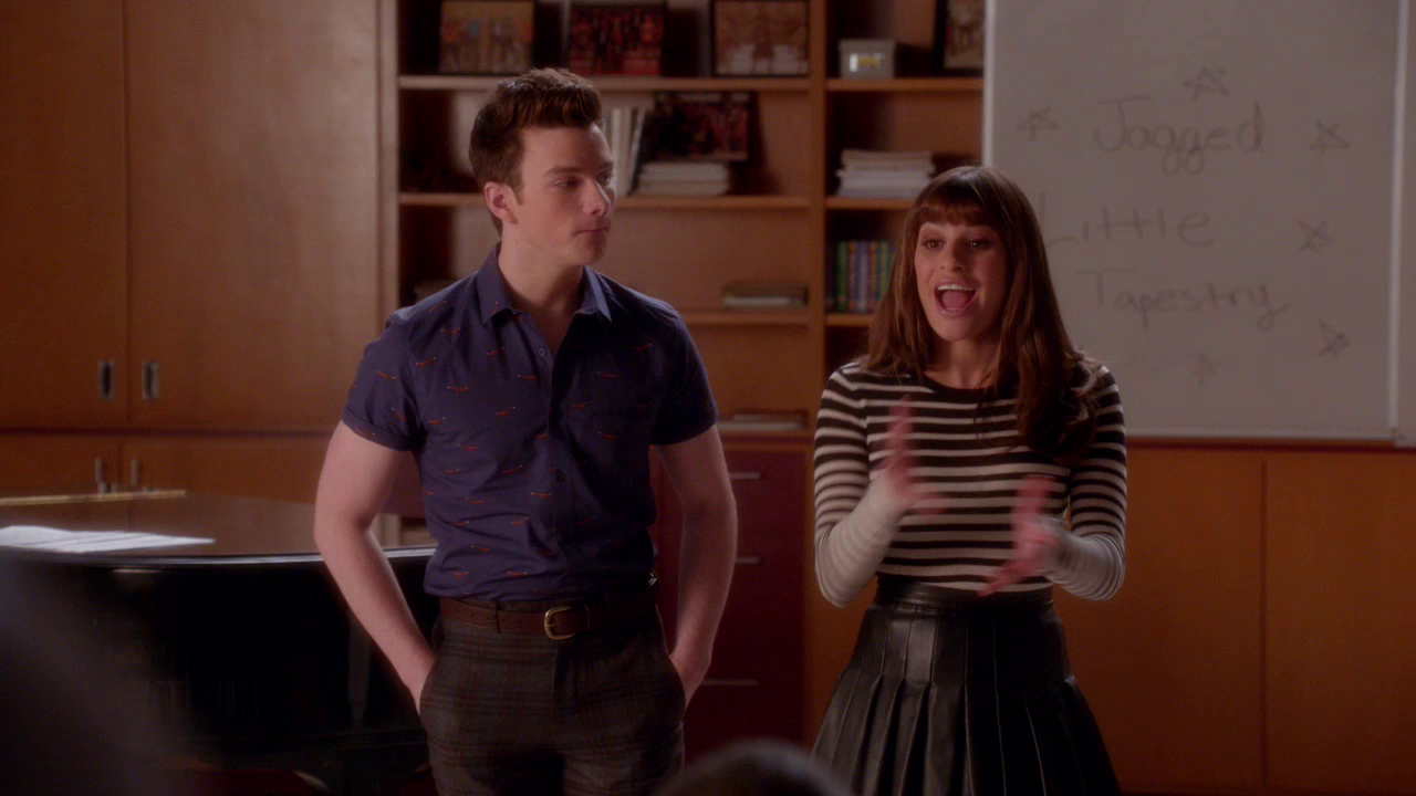 Glee / Хор [NewStudio] [WEB-DL 720p] [Season 6 / Episode 3] [2015 / HDTVRip] [Comedy / Drama / Music]