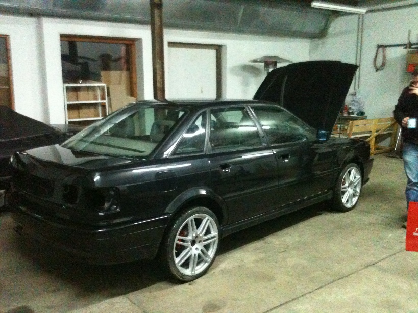 The Project Pad View Topic Audi 80 B4 Quattro Sedan With A V8
