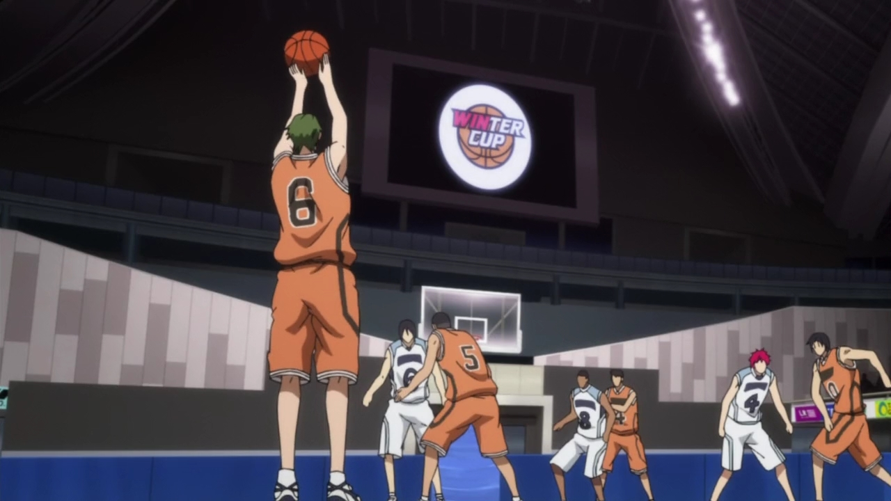 Kuroko no Basuke / Баскетбол Куроко [AniDub] [Season 3/Episode 4] [2015 / HDTVRip] [TV Anime]