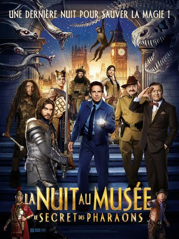 La Nuit au mus�e : Le Secret des Pharaons 2014 [FRENCH] [BRRiP]