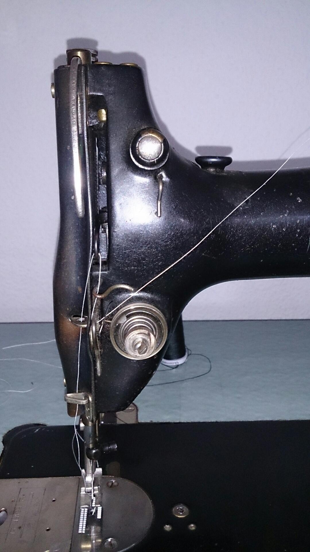 alte pfaff 1340 6 näht nicht richtig hilfe ( (handwerk  ~ Nähmaschine Näht Nicht Richtig