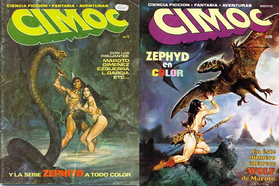 Cimoc T1 Comix Magazine Collection (Spanish)
