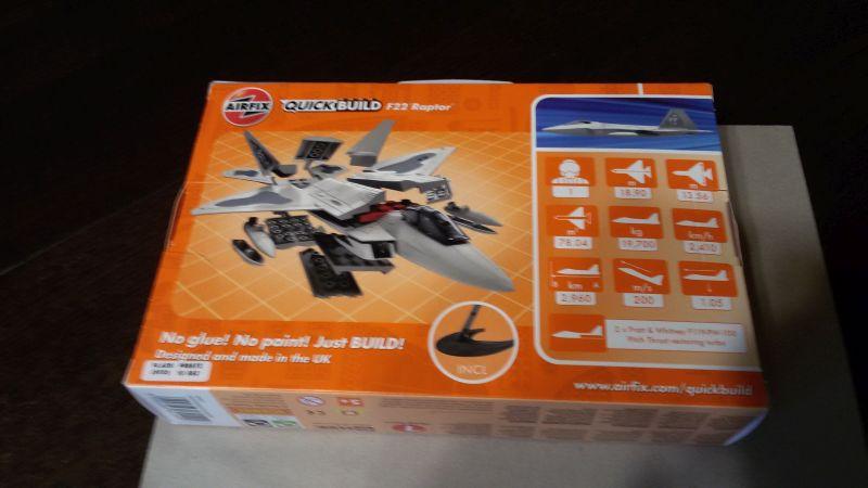 Airfix J6005- Quick Build F22 Raptor- LEGO von Airfix! 974het4d