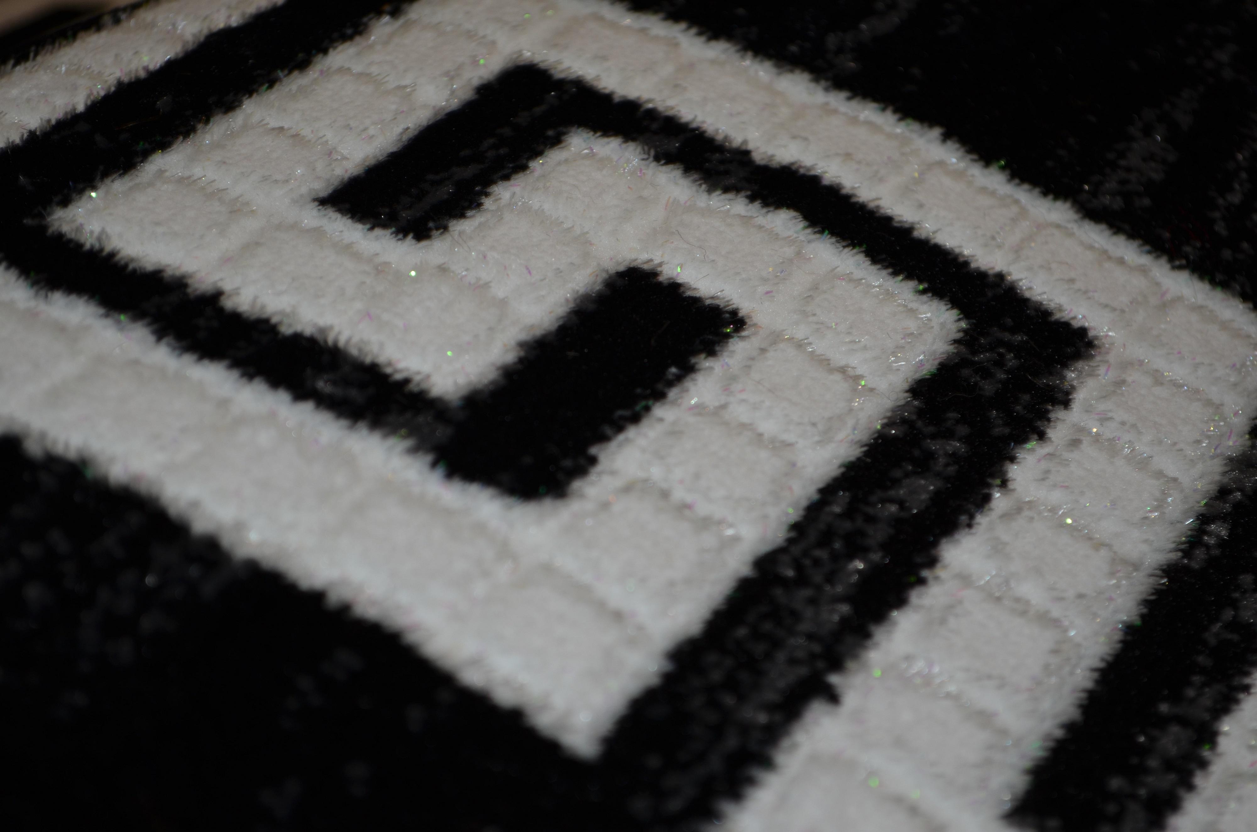 Hochwertige Teppich AY Yildiz Moderner Design Mäander