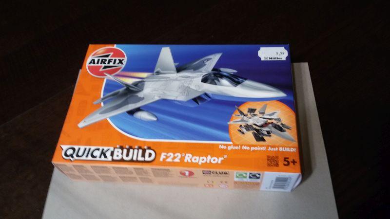 Airfix J6005- Quick Build F22 Raptor- LEGO von Airfix! Elncms3g