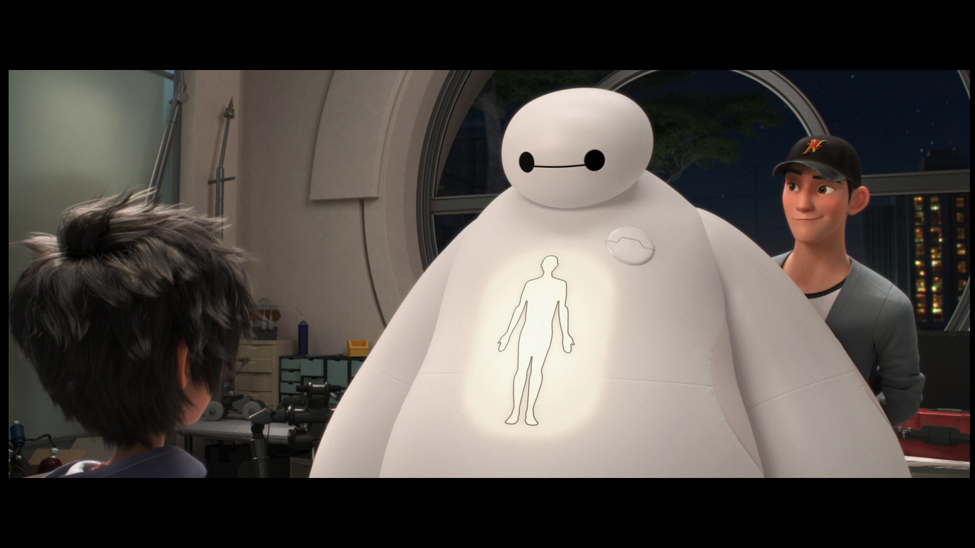 Big Hero 6 / Город героев [3D] [2014 / Blu-Ray] [Action / Animation / Comedy]