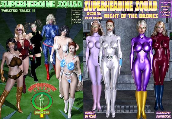 Superheroine Square - Episode 1-11