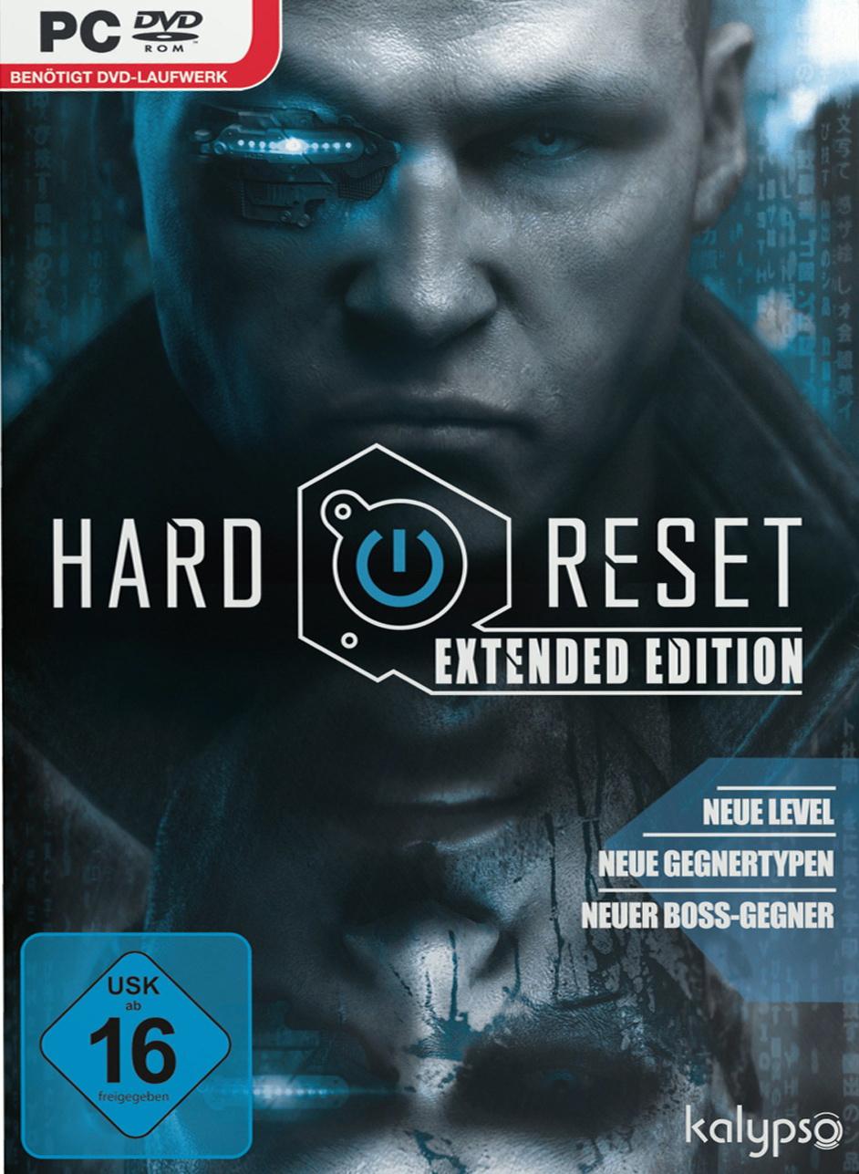 Hard Reset Deutsche  Texte, Untertitel, Menüs, Videos, Stimmen / Sprachausgabe Cover