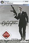 James Bond 007: Ein Quantum Trost Deutsche  Texte, Menüs, Videos, Stimmen / Sprachausgabe Cover