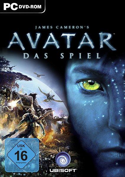 James Camerons: AVATAR - Das Spiel Deutsche  Texte, Untertitel, Menüs, Videos, Stimmen / Sprachausgabe Cover