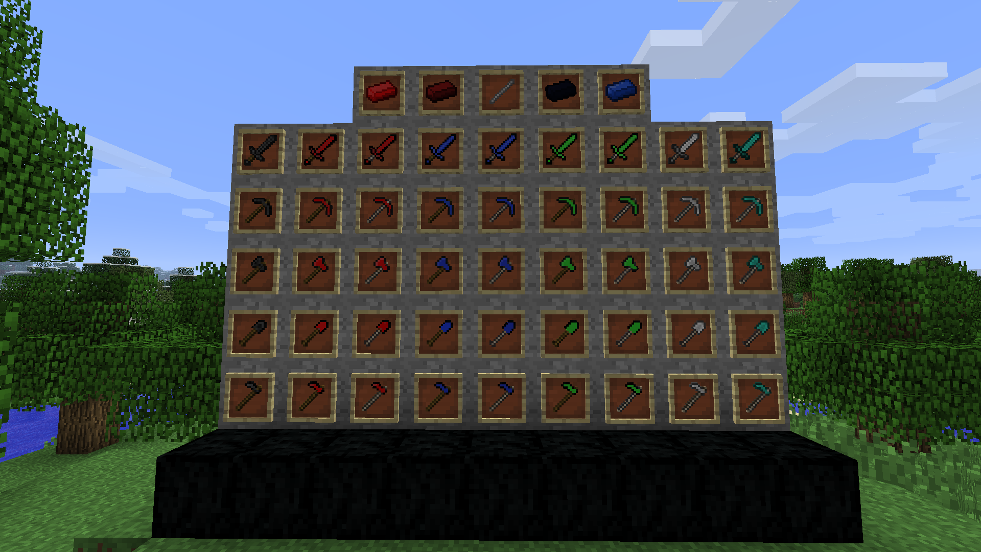 Lapis lazuli house - Minecraft Forums