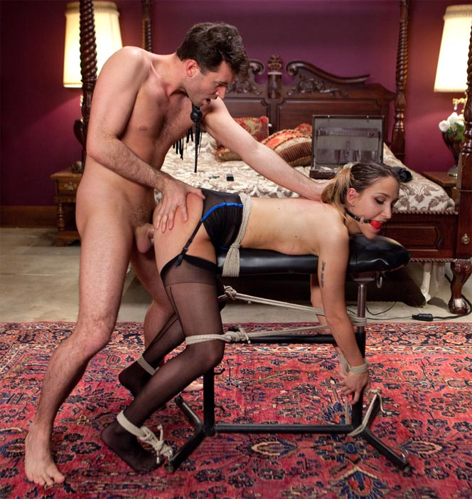 Sex And Submission - James Deen, Mystica Jade - The Courier 720p WebRip (2015)
