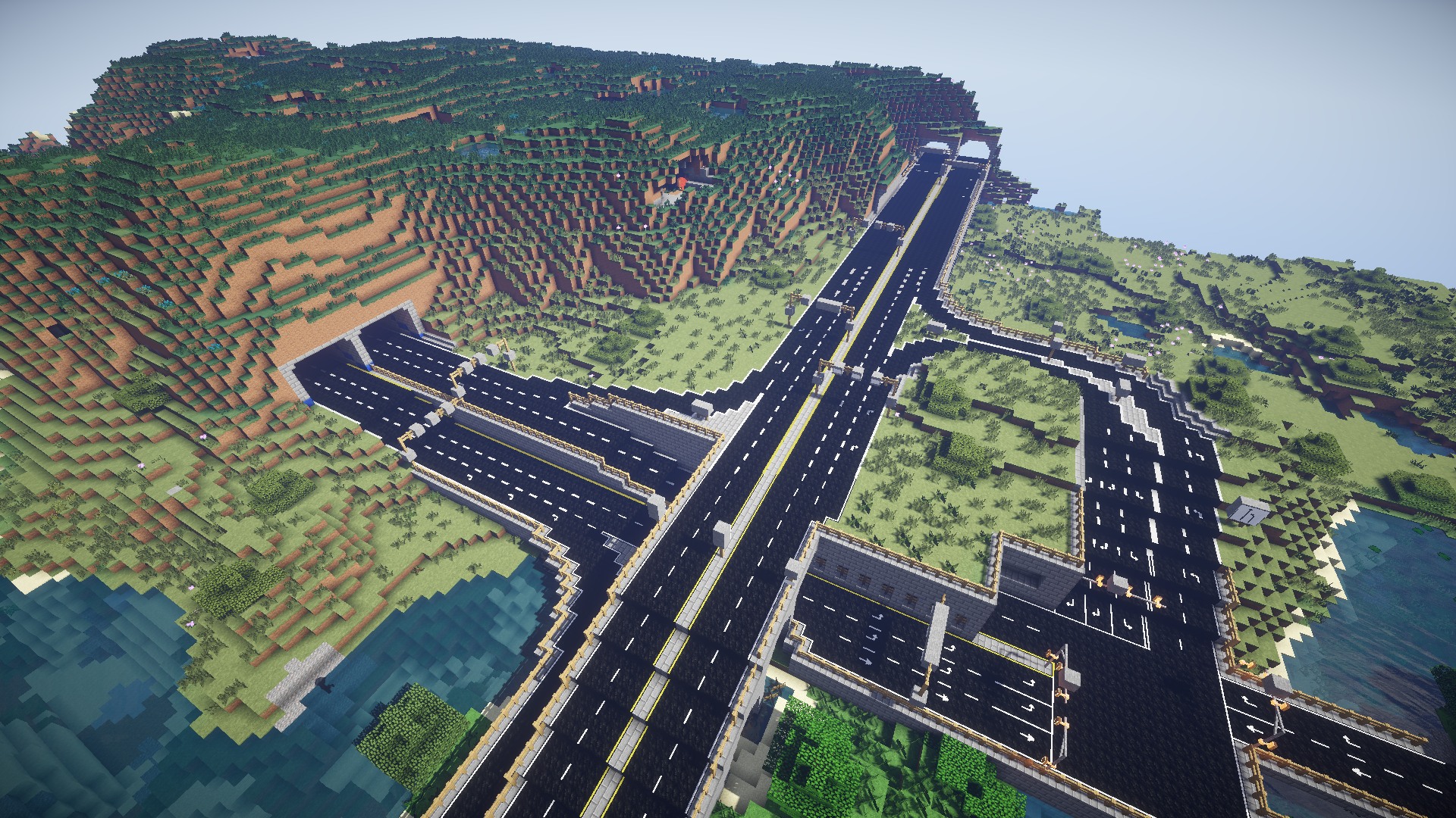 big wall maps with Roads In Minecraft on Hawaiian Islands Chain in addition The Big Orange Snake Shanghai Metro Line 7 Sneak Preview likewise Spidermonkey furthermore The Ceranese Hotel Minecrafts Largest Hotel also Warucia Castle.