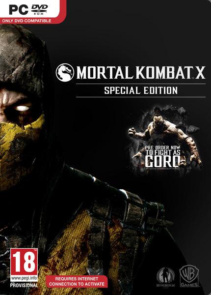 Mortal Kombat X Premium Edition Incl Update 20 MULTi2 – x X RIDDICK X x