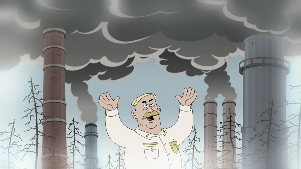 Brickleberry / Бриклберри [NewStudio] [WEB-DL 720p] [Season 3 / Episode 13] [2015 / HDTVRip] [Animation / Comedy]