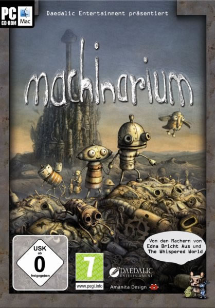 Machinarium Collectors Edition – I_KnoW