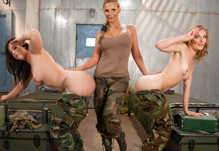 EveryThing Butt - Phoenix Marie, Mona Wales, Virgo Peridot - Barrack Bottom Basic Training WebRip (2015)