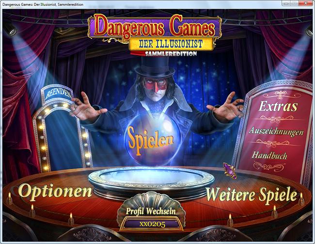 Dangerous Games 2 :Der Illusionist Sammleredition [DE]