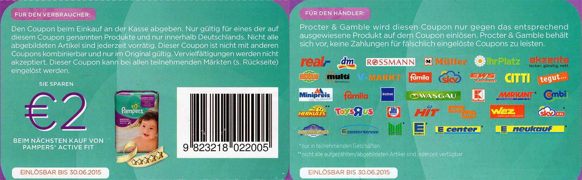 pampers rabatt coupon ausdrucken