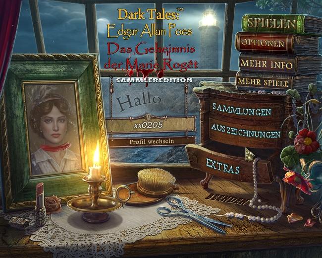 Dark Tales 7: Edgar Allan Poes Das Geheimnis der Marie Rogêt Sammleredition [DE]