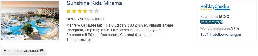 7 Tage Bulgarien im 5* HVD Clubhotel Miramar mit All Inclusive inkl. Flug und Transfer für 324€