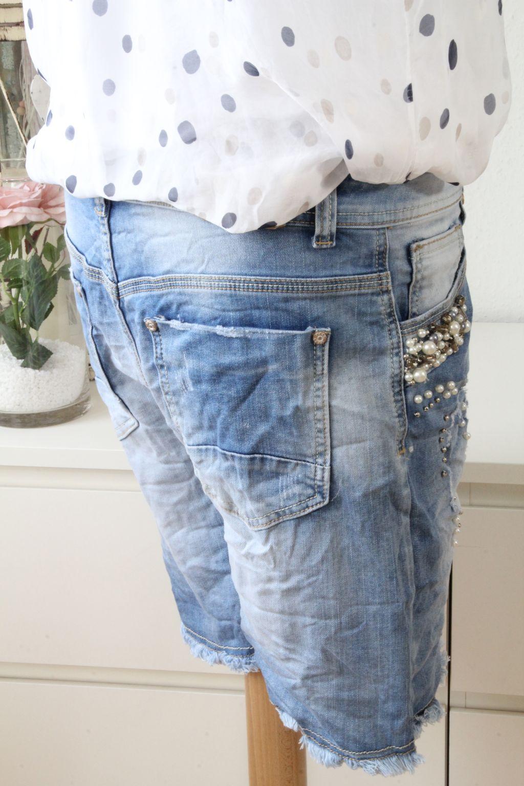 your self baggy jeans bermudas shorts hose destroyed. Black Bedroom Furniture Sets. Home Design Ideas