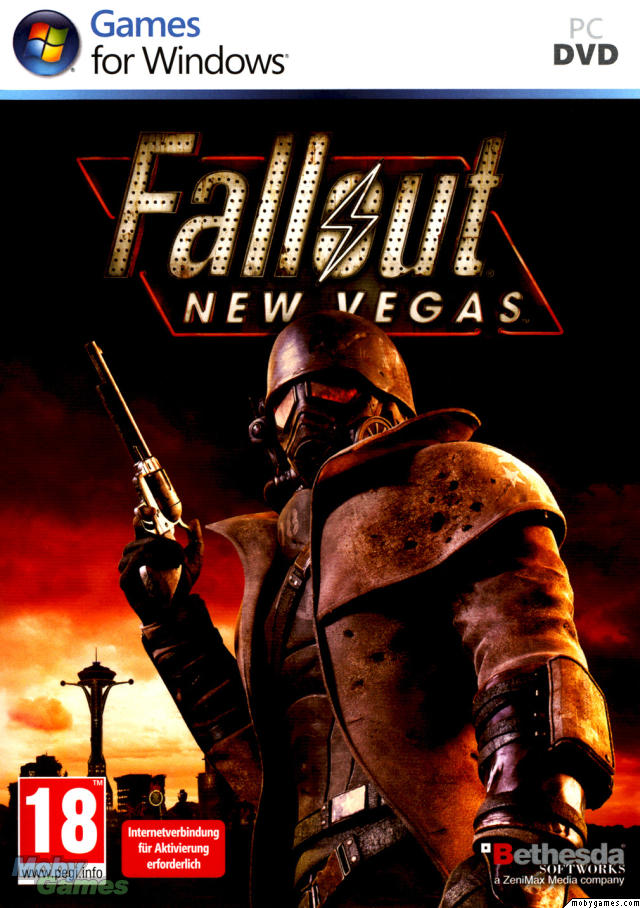 Fallout - New Vegas Deutsche  Texte, Untertitel, Menüs, Videos, Stimmen / Sprachausgabe Cover