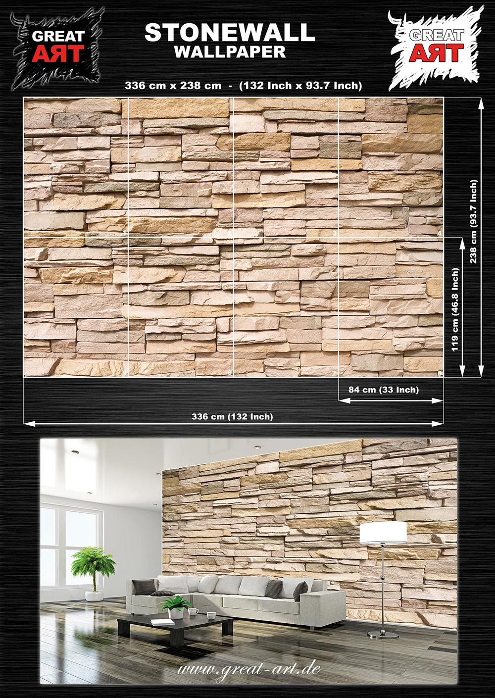 Wohnzimmer steinwand kosten – dumss.com