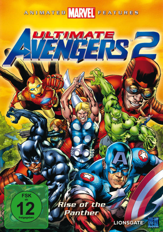 [Animation] Ultimate Avengers 2 Rise of the Panther 2006 ...