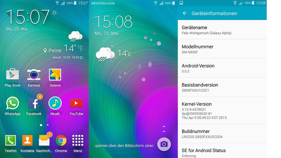 Rom quốc tế 5.0.2 tốt nhất  cho Samsung G850S (alpha)