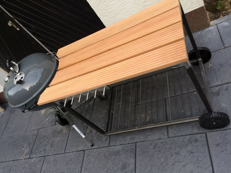 weber bambus beistelltisch schwarz 28 5 x 28 5 x 12 8 cm 17638 mwd. Black Bedroom Furniture Sets. Home Design Ideas