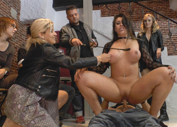 Public Disgrace - Mona Wales, Klara Gold - Busty Klara Gold Fucked Hard Outdoors!!! [SD]
