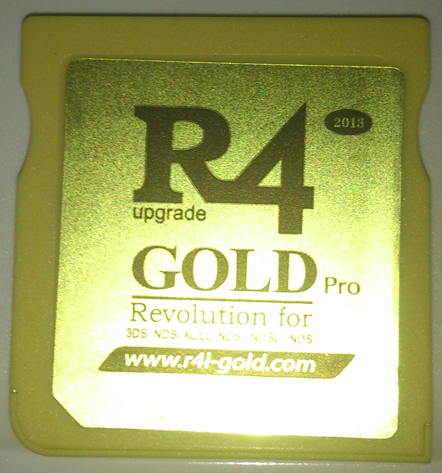 R4 Gold Pro - White Screen problem | RomUlation