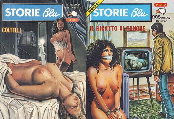 Stori Blu Comics Collection (Italian)