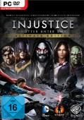 Injustice: Gods Among Us Deutsche  Texte, Menüs, Videos, Stimmen / Sprachausgabe Cover