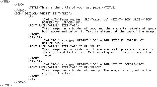 Source HTML