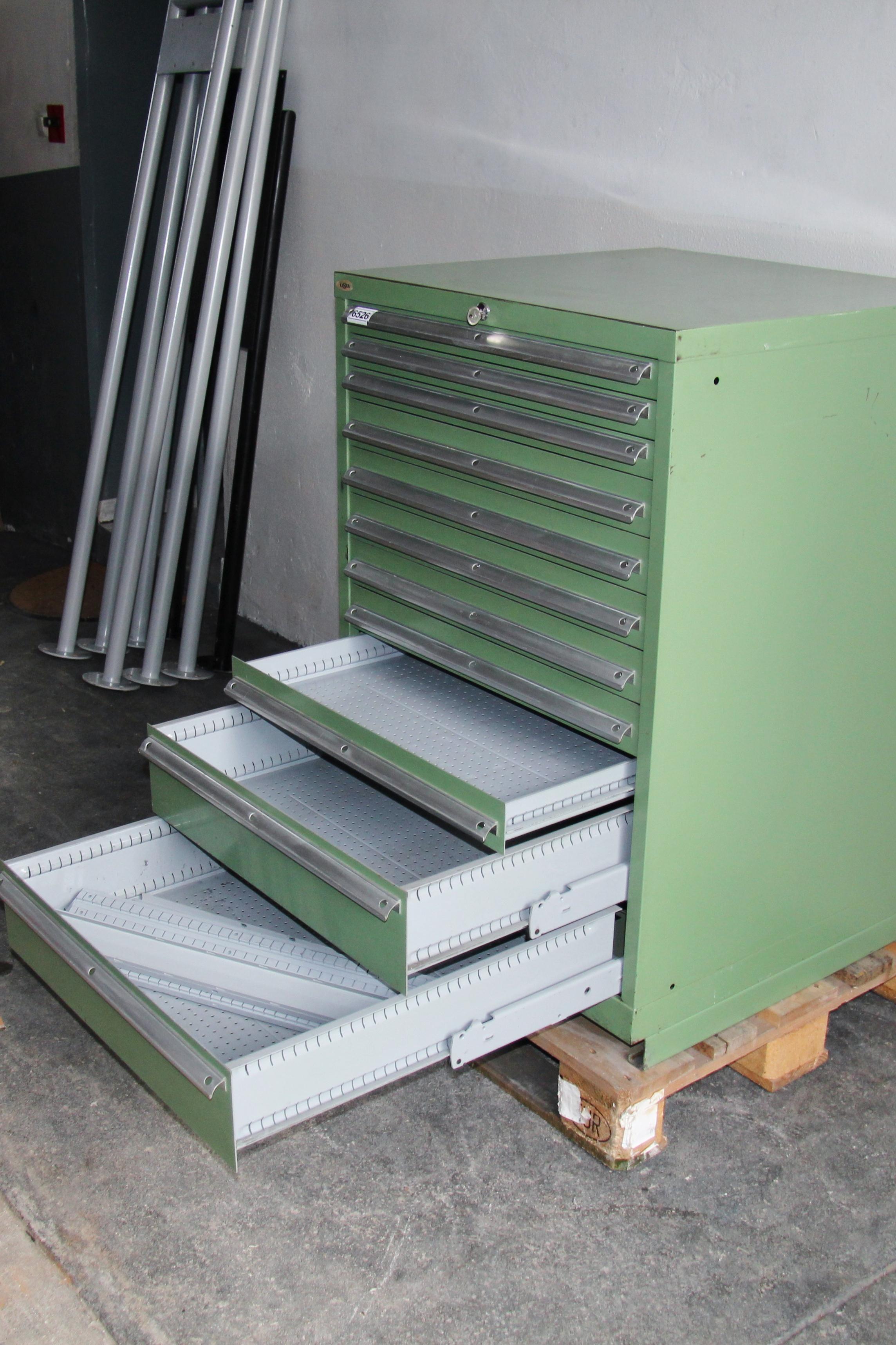 LISTA Schubladenschrank / Werkzeugschrank / Magazinschrank *6526 ...