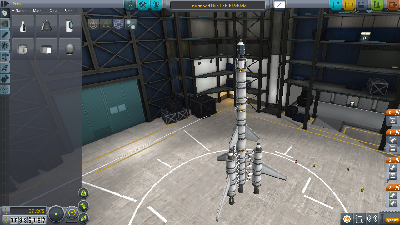 simple rocket kerbal space program - photo #35