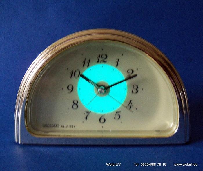 quartz alarm clock instructions