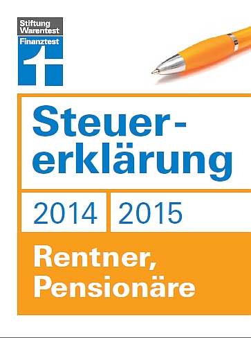 stiftung warentest steuererkl rung 2014 und 2015 rentner pension re. Black Bedroom Furniture Sets. Home Design Ideas