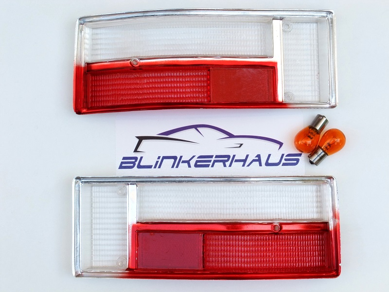 how to make clear tail light lenses