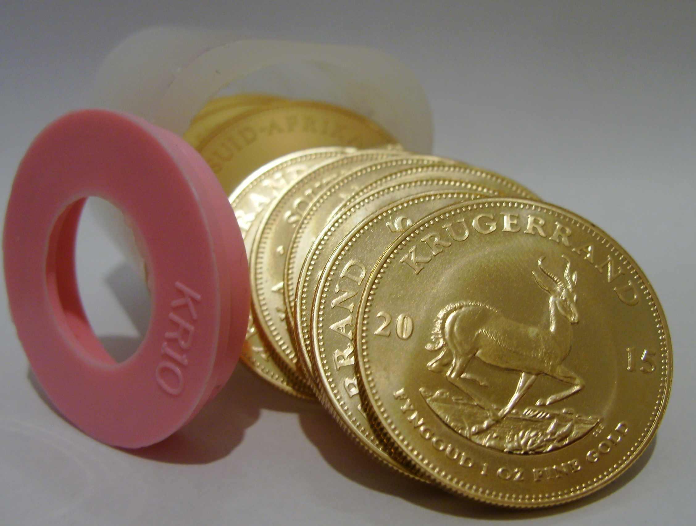 Investmentpaket Krügerrand Goldmünzen 2015