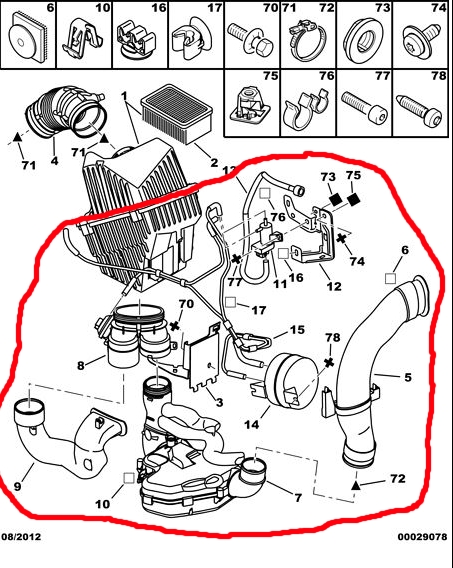 The Peugeot 206 Info Exchange  U203a Forums  U203a The Car  U203a 206 Problems  U203a Secondary Vacuum  Air Pump